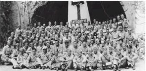 Muster gained international fame when is was held by 25 Aggies on the island of Corregidor in 1942
